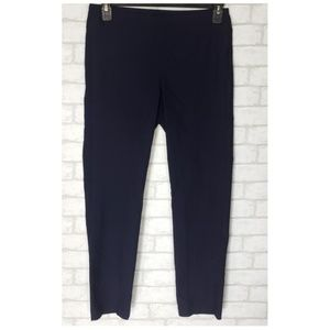 Miraclesuit Pull on Navy Tapered Trouser Pants 10